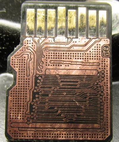 Восстановление данных с microSD
