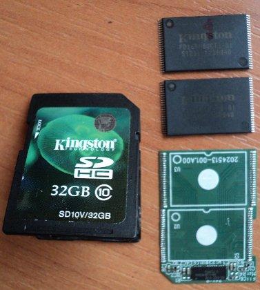 Восстановление данных с SD карты памяти в Киеве