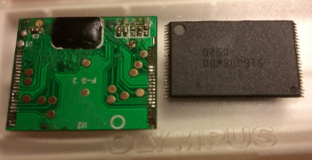 Восстановление данных с xD карты памяти
